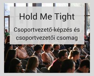 Online Hold Me Tight csoportvezető-képzés és csoportvezetői csomag